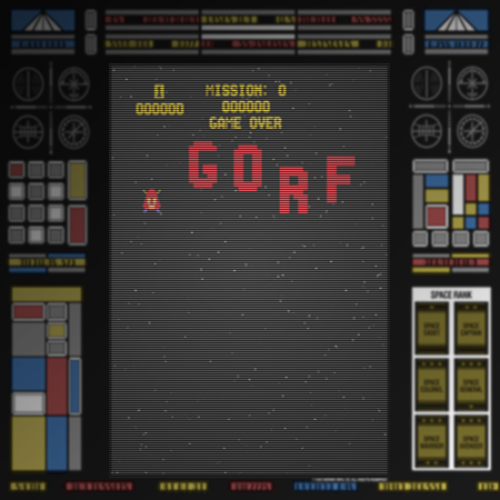 Screenshot: Gorf