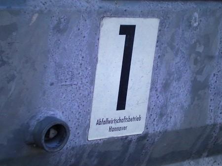 1 Abfallbetrieb Hannover