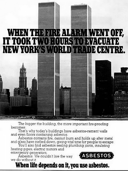 When the fire alarm went off, it took two hours to evacuate New York's World Trade Centre