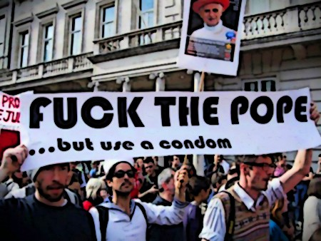 Fuck the Pope... but use a condom