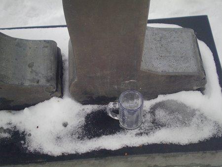Fußglas