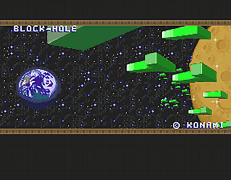 Block-Hole (c) KONAMI