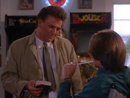 Screenshot Columbo mit Arcade-Gerät Joust