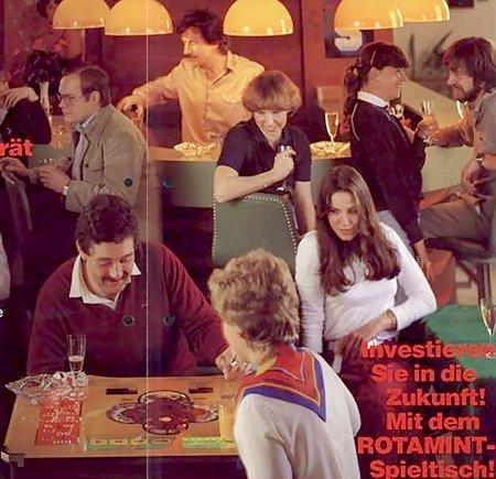 Investieren Sie in die Zukunft! Mit dem ROTAMINT-Spieltisch!