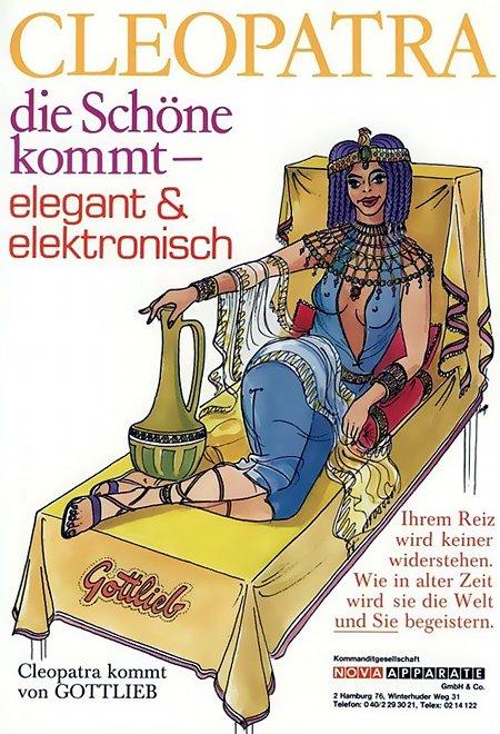 Cleopatra die Schöne kommt - elegant & elektronisch