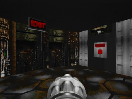 Exit-Bereich aus Doom