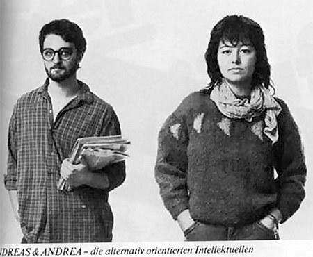 Andreas und Andrea - die alternativ orientierten Intellektuellen