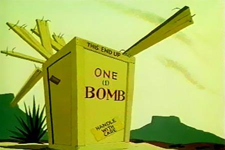 One (1) Bomb, Handle with care