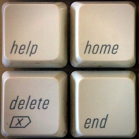 Help Home Delete End