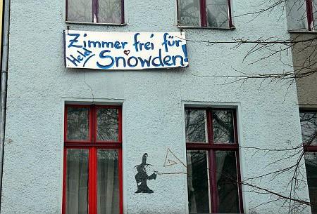 Zimmer frei für Held Snowden