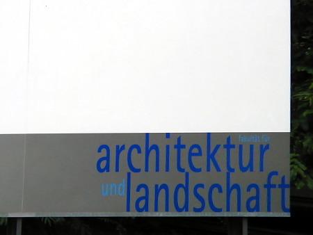 Institut für Architektur und Landschaft