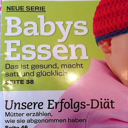 Neue Serie: Babys Essen -- Das ist gesund, macht satt und glücklich