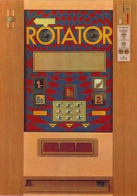 Geldspielgerät Rotator, Lindl&Co, 1968