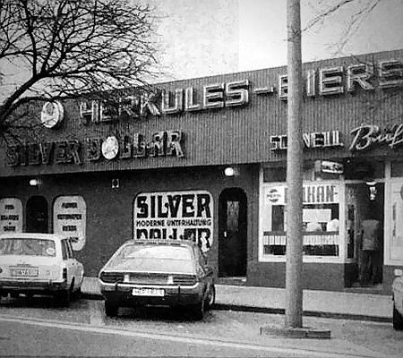 Foto der Spielhalle 'Silver-Dollar' in der Kurfürstenstraße, Kassel aus dem Jahr 1973
