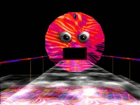 Eine 'böse Sonne' aus dem Spiel 'LSD Dream Emulator', einfach unbeschreiblich...