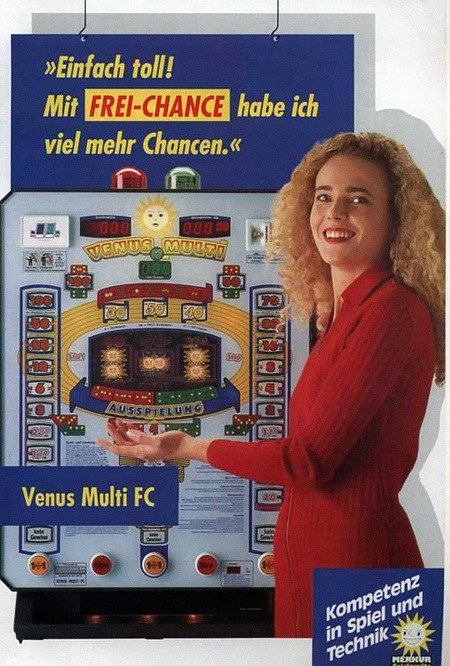 Einfach toll! Mit FREI-CHANCE habe ich viel mehr Chancen. -- Venus Multi FC -- Kompetenz in Spiel und Technik -- Merkur