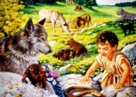 Bild aus einem Wachtturm der Zeugen Jehovas aus dem Jahr 2004, geringfügig von mir nachbearbeitet...