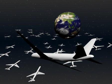 Xenu Raumschiffe erreichen die Erde.