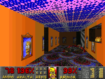 Screenshot Simpsons Doom