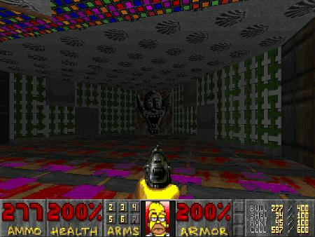Screenshot Simpsons Doom