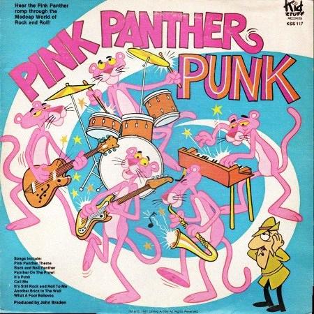 Plattenhülle: Pink Panther Punk