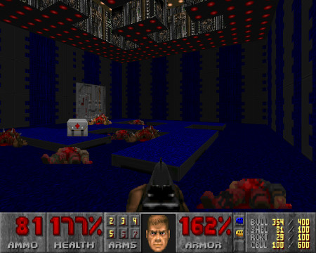 Screenshot aus 'Doom'