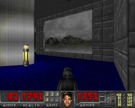 Screenshot aus Freedoom 0.10, Phase 1
