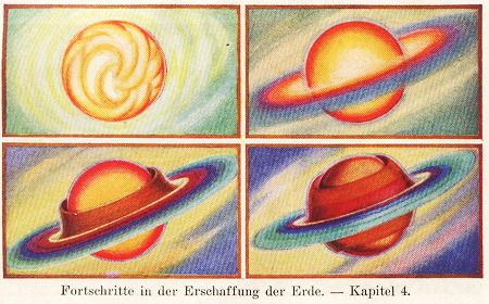 Fortschritte in der Erschaffung der Erde. Kapitel 4.