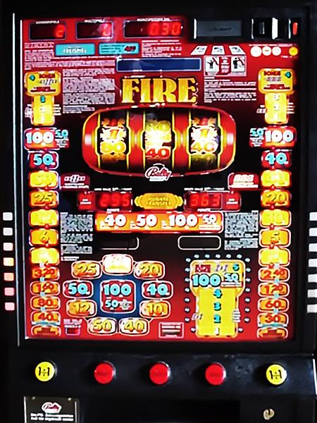 Geldspielgerät Fire von Bally Wulff