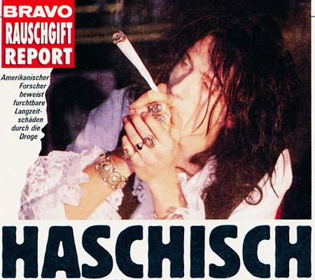 BRAVO RAUSCHGIFT REPORT -- HASCHISCH -- Amerikanischer Forscher beweist furchtbare Langzeitschäden durch die Droge -- Das Foto zu diesen Worten ist unbeschreiblich.