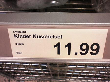 Living Art -- Kinder Kuschelset -- 2-teilig -- 11,99