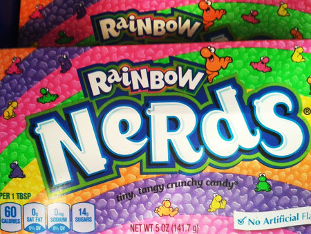 Produktverpackung: Rainbow Nerds