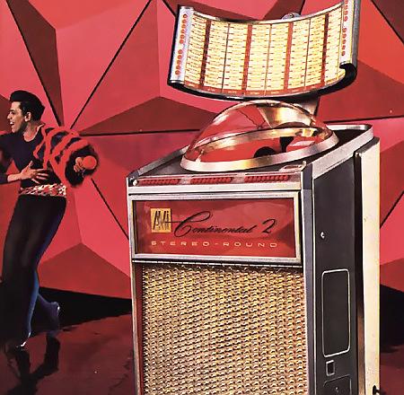AMI Continental 2 Stereo Round -- Werbung für eine Musikbox in einer Fachzeitschrift für Automatenaufsteller aus dem Jahr 1962