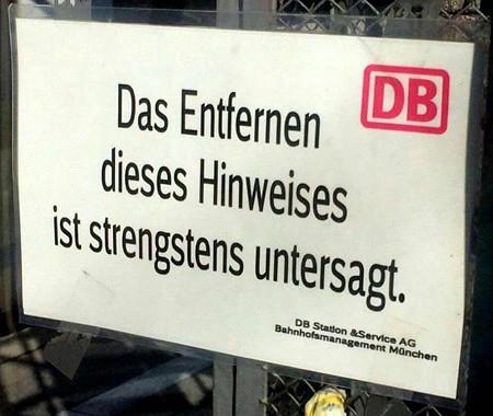 DB -- Das Entfernen dieses Hinweises ist strengstens untersagt. -- DB Station&Service AG, Bahnhofsmanagement München