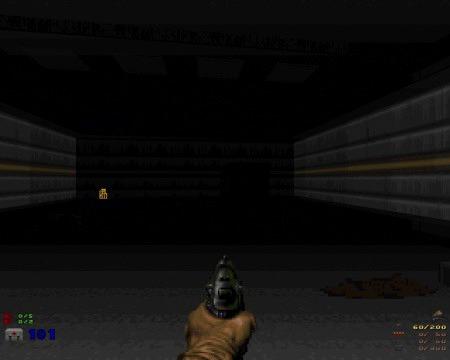 Screenshot aus einer unfertigen DooM-Map von mir