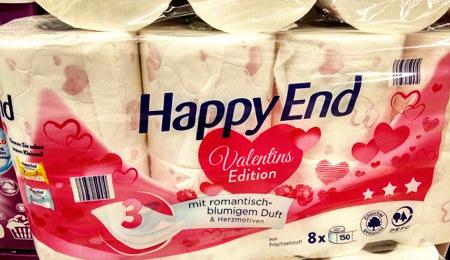 Valentinstag-Toilettenpapier