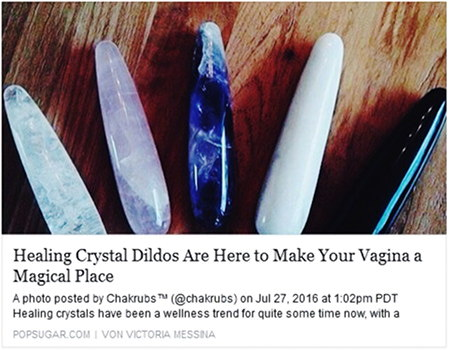 Healing Crystal Dildos Are Here To Make Your Vagina a Magical Place