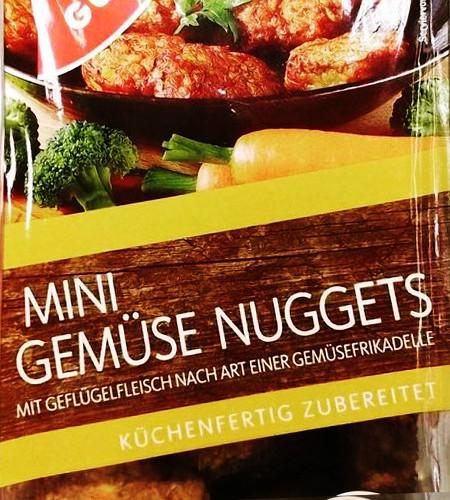 Mini Gemüse Nuggets mit Geflügelfleisch nach Art einer Gemüsefrikadelle -- Küchenfertig zubereitet