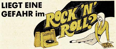 Liegt eine Gefahr im Rock'n'Roll?
