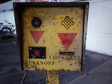 Alter Automat (Siebziger Jahre) in der Tiefgarage des Ihmezentrums in Hannover-Linden
