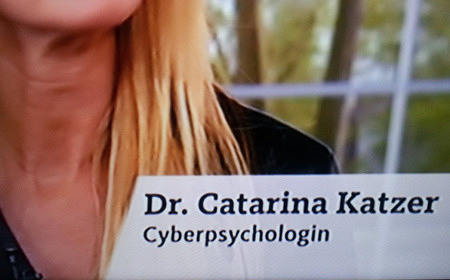 Dr. Caterina Katzer, Cyberpsychologin