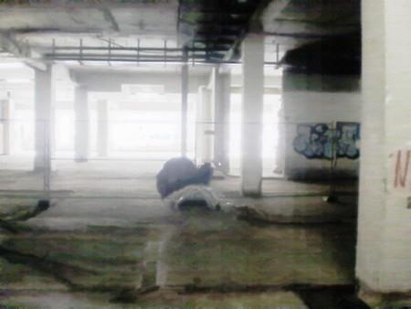 Stark nachbearbeitetes Foto aus dem Ihmezentrum in Hannover Linden