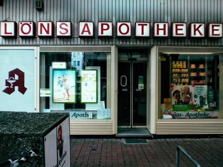 Die Löns-Apotheke auf der Lister Meile in der hannöverschen Innenstadt