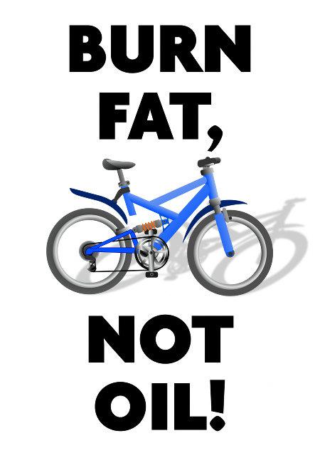 Burn fat, not oil!