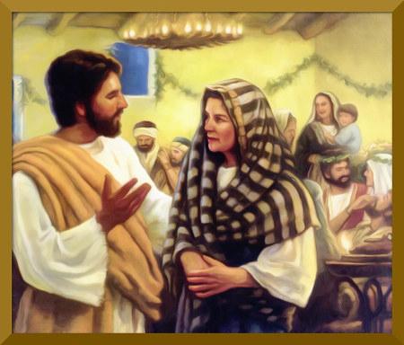 Stark nachbearbeitetes Bild aus der Literatur der Zeugen Jehovas