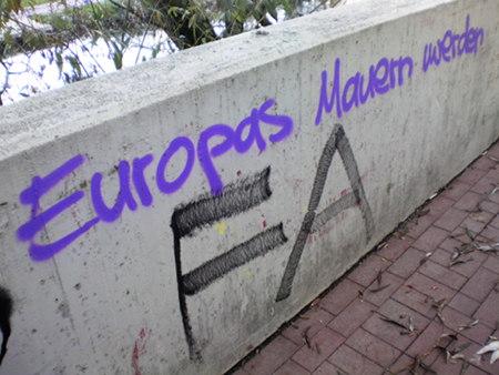 Europas Mauern werden