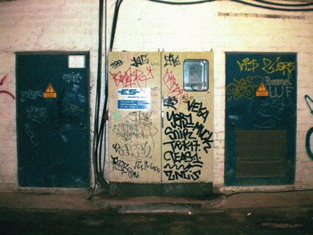 Schaltkasten im Ihmezentrum, unbeschreibliches Foto.