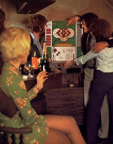 Werbung für das NSM-Geldspielgerät 'Super Bingo' aus einer Fachzeitschrift für Automatenaufsteller des Jahres 1973