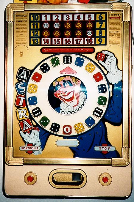 Wulff-Geldspielgerät 'Astra' aus dem Jahr 1962