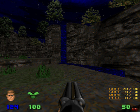 Screenshot aus den DooM-Levelset Valiant